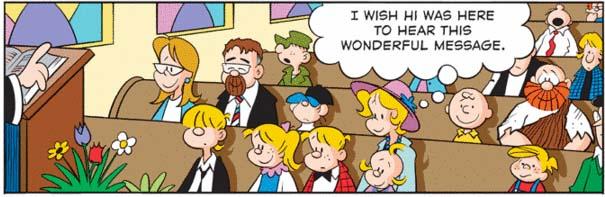 hi und lois comic strip